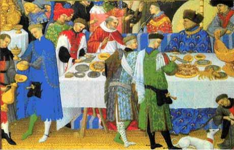 Любопытные сведения о средневековой пище