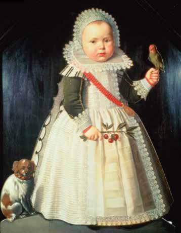 Мальчики в девичьих платьях в 17-18 веках - почему?