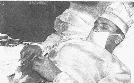 Хирург, который прооперировал себя сам