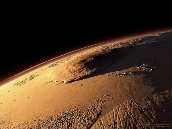 Олимп — самая высокая гора в Солнечной системе