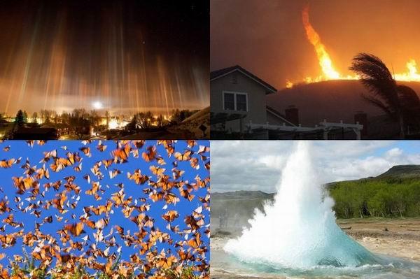 Топ 10 зрелищных явлений природы