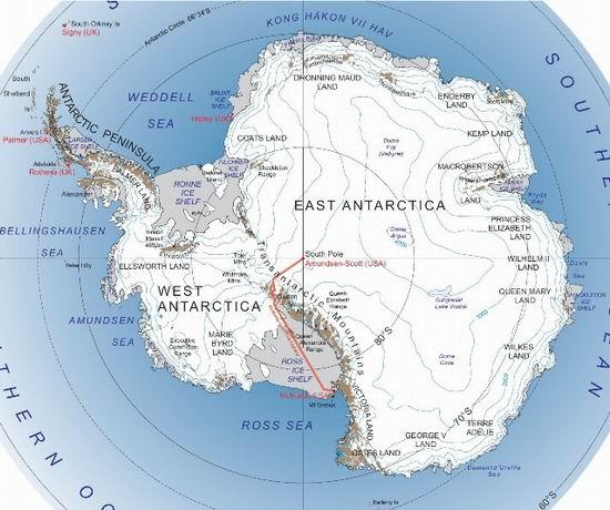10 интересных фактов о Северном и Южном полюсе Земли