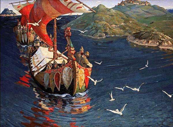 Задолго до Петра I Россия имела собственный мощный флот