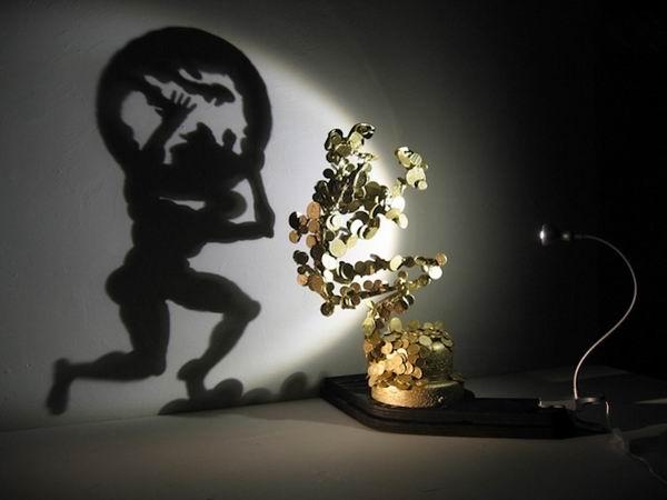 Искусство создавать тень: Узнаваемые силуэты абстрактных скульптур
