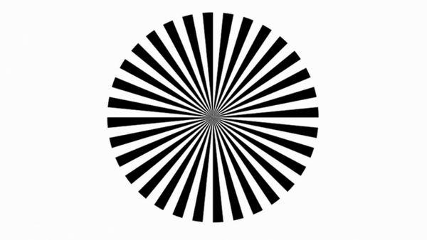 Оптическая иллюзия позволит вам увидеть свои собственные мозговые волны