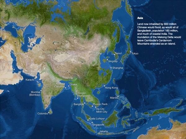 Что случится, когда растает весь лед на планете?