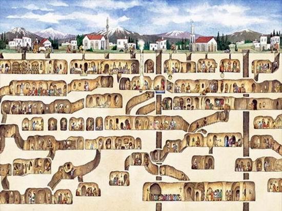 Девять удивительных подземных городов