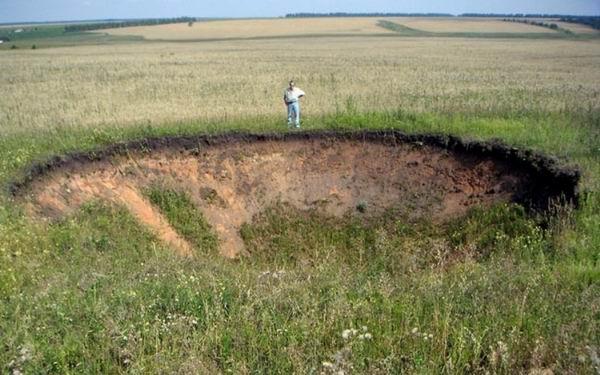 10 аномальных зон на карте России