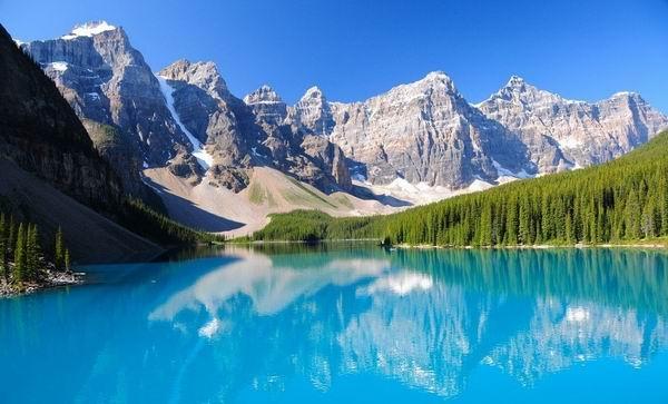 Самые уникально окрашенные озёра в мире